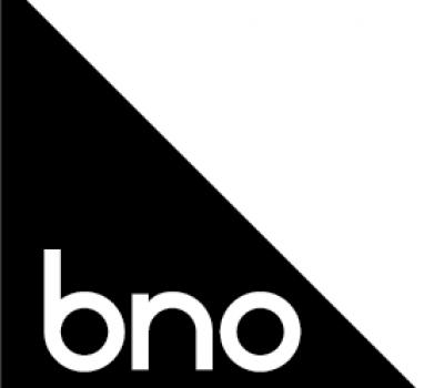 BNO-logo zwart wit